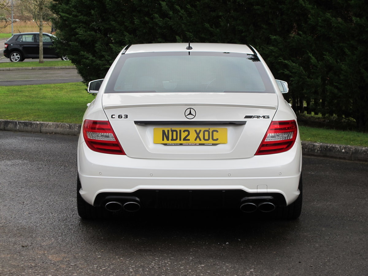 2012 Mercedes C63 AMG Saloon For Sale (picture 10 of 12)