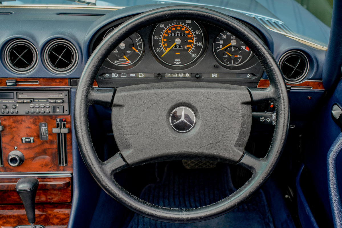 1986 Mercedes-Benz 300SL (R107) #2152 Superb Throughout For Sale (picture 9 of 12)