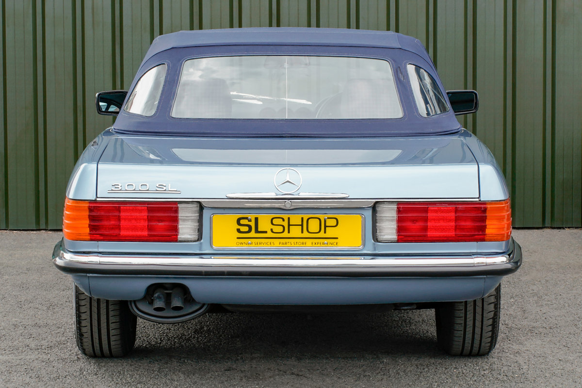 1986 Mercedes-Benz 300SL (R107) #2152 Superb Throughout For Sale (picture 11 of 12)