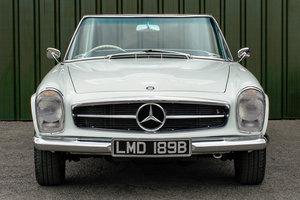 Mercedes-Benz 230SL Pagoda (W113) #2141 Restored