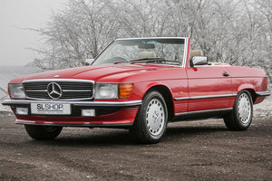 Picture of 1989 Mercedes-Benz 300SL (R107) with Beige Fabric #2258 For Sale