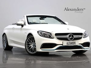 Picture of 2017 17 67 MERCEDES BENZ C63 AMG CABRIOLET OCEAN BLUE EDITION For Sale