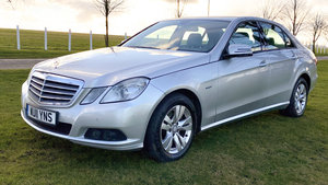 Picture of 2011 Mercedes Benz E Class Diesel Saloon- E220 CDI BlueEffic For Sale