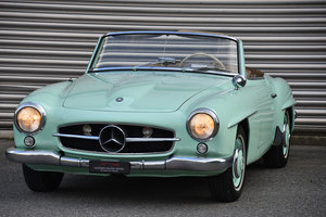 Picture of 1960 Mercedes-Benz 190 SL, super rare colour For Sale