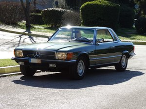 Picture of 1973 Mercedes Benz 350 SLC, Stone Pine Green, restored For Sale