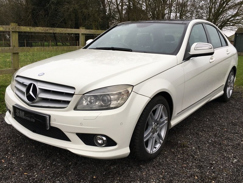 2008 MERCEDES BENZ C350 SPORT AMG AVANTGARDE SALOON For Sale (picture 1 of 12)