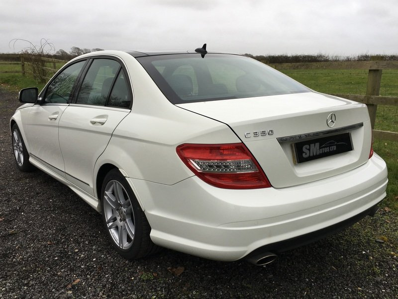 2008 MERCEDES BENZ C350 SPORT AMG AVANTGARDE SALOON For Sale (picture 6 of 12)