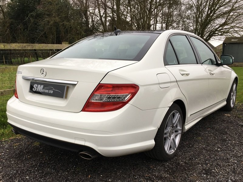 2008 MERCEDES BENZ C350 SPORT AMG AVANTGARDE SALOON For Sale (picture 9 of 12)
