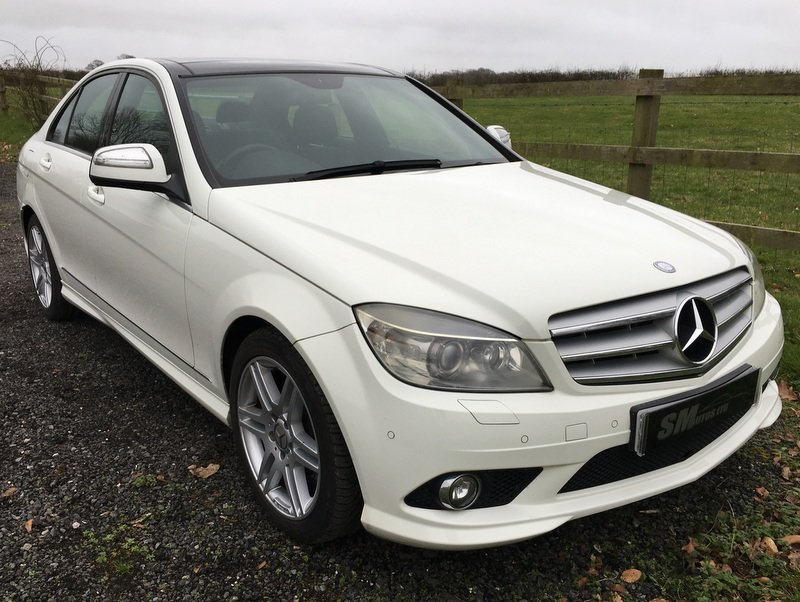 2008 MERCEDES BENZ C350 SPORT AMG AVANTGARDE SALOON For Sale (picture 12 of 12)