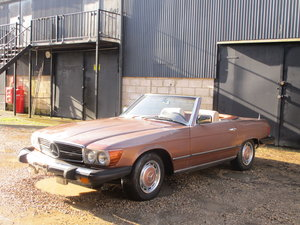 Picture of Mercedes 450sl 1976 LHD Project. For Sale