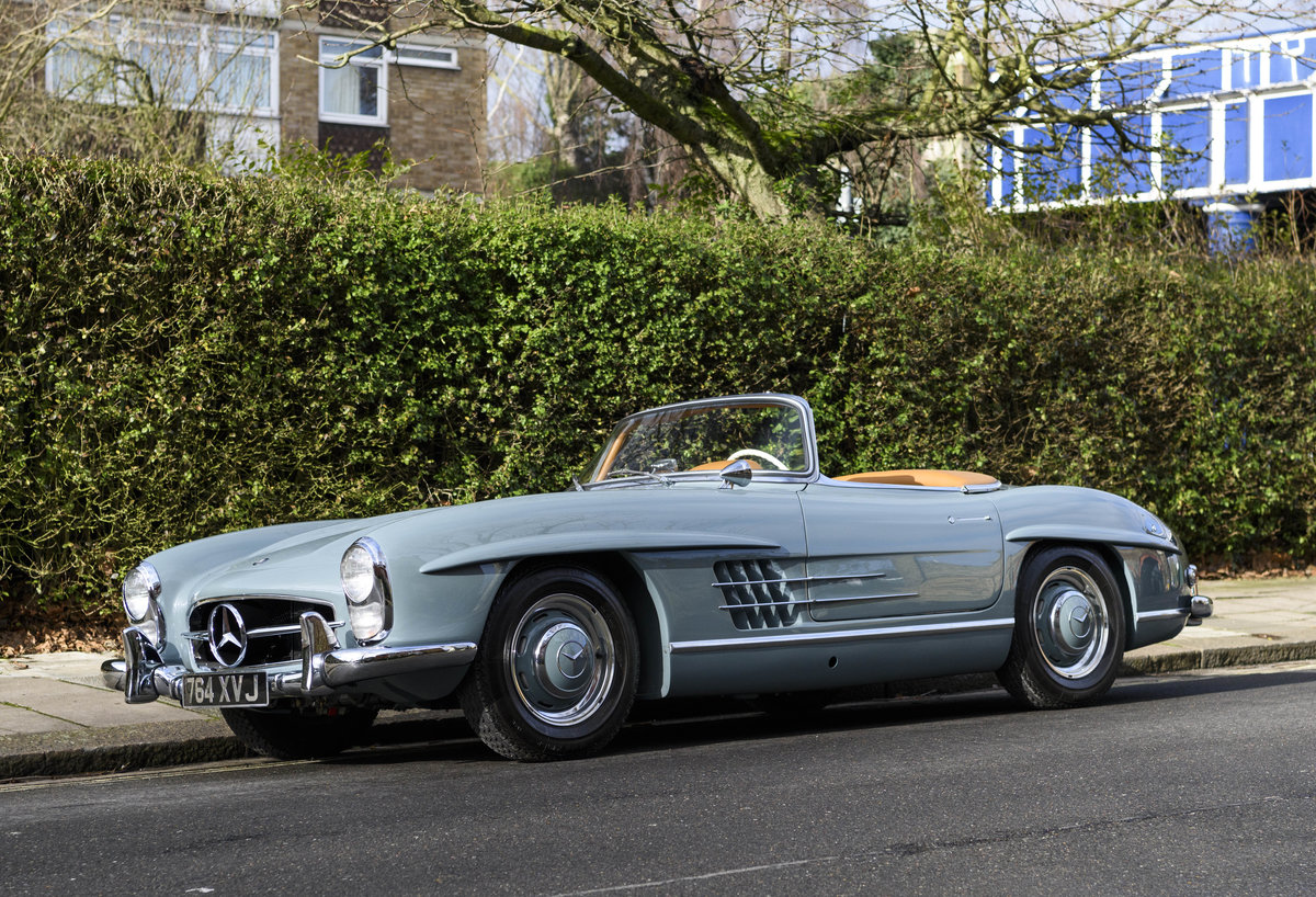 1957 Mercedes-Benz 300SL Roadster (LHD) For Sale (picture 1 of 32)