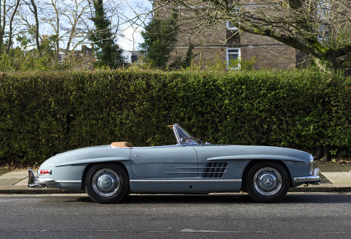 1957 Mercedes-Benz 300SL Roadster (LHD) For Sale (picture 3 of 32)