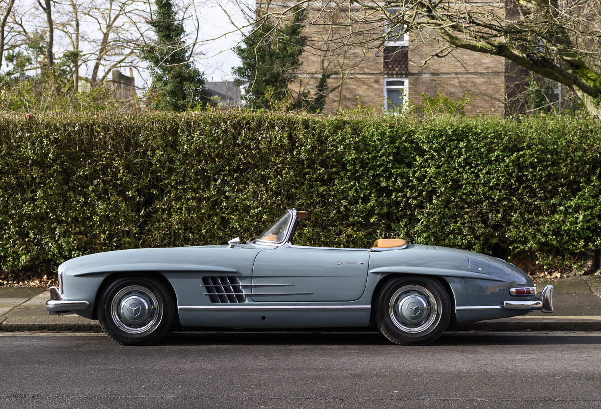 1957 Mercedes-Benz 300SL Roadster (LHD) For Sale (picture 4 of 32)