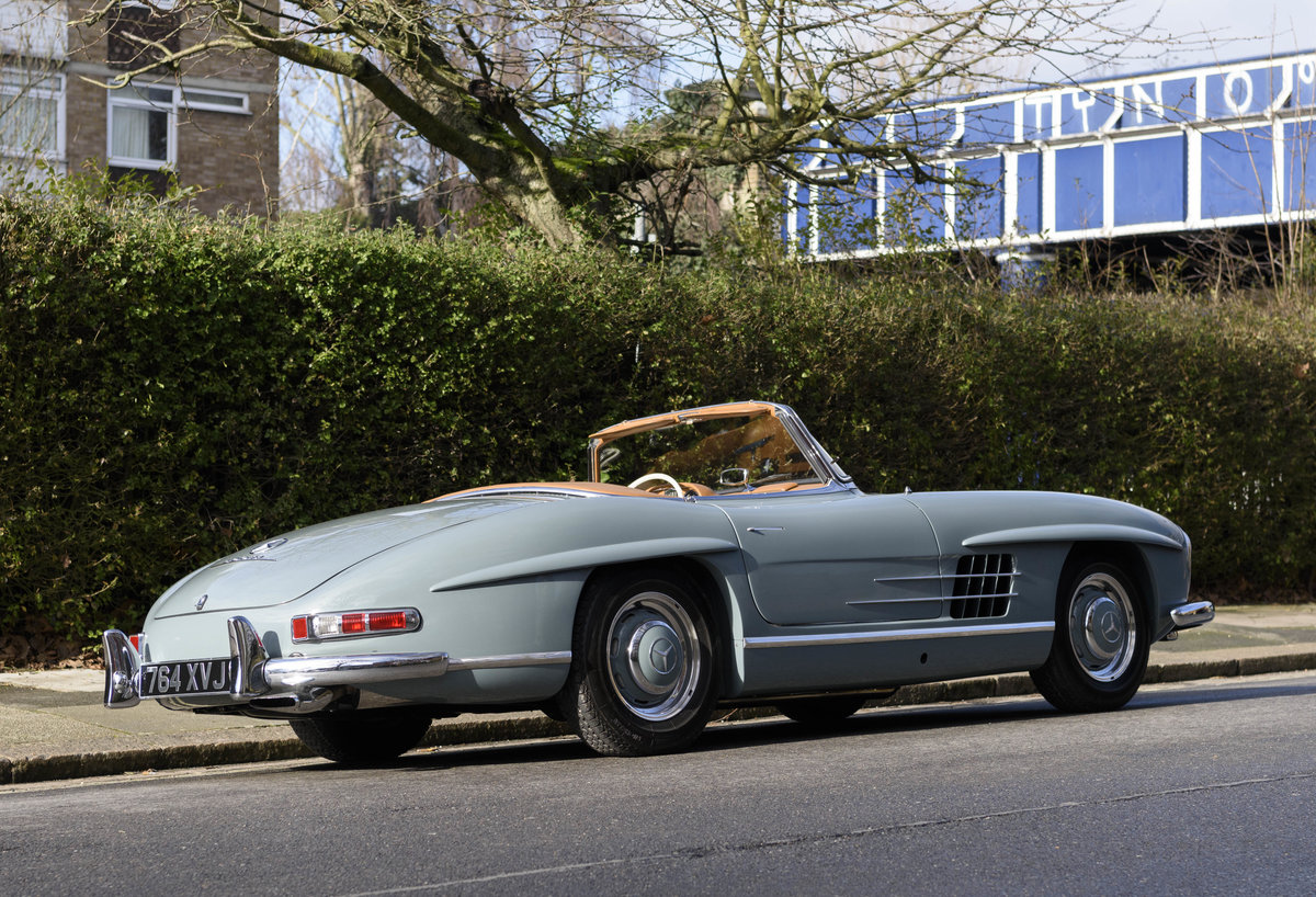 1957 Mercedes-Benz 300SL Roadster (LHD) For Sale (picture 5 of 32)