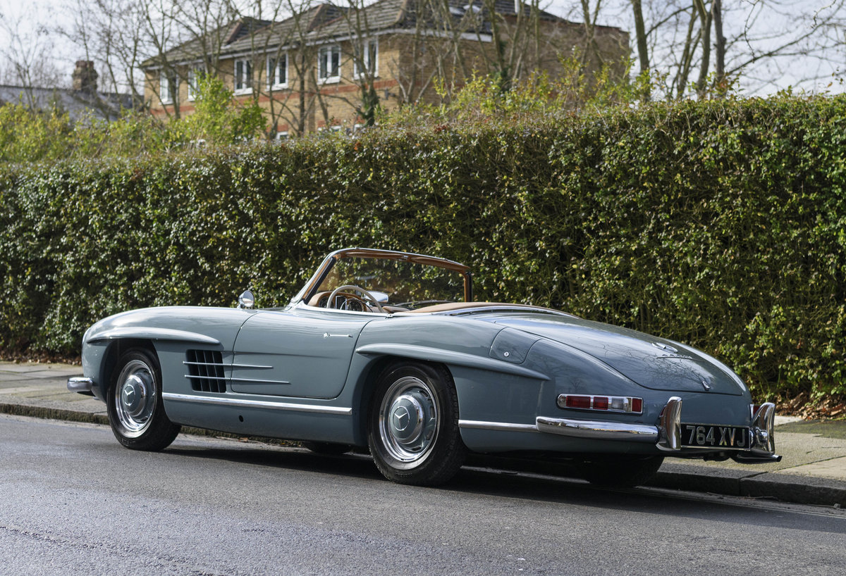 1957 Mercedes-Benz 300SL Roadster (LHD) For Sale (picture 6 of 32)