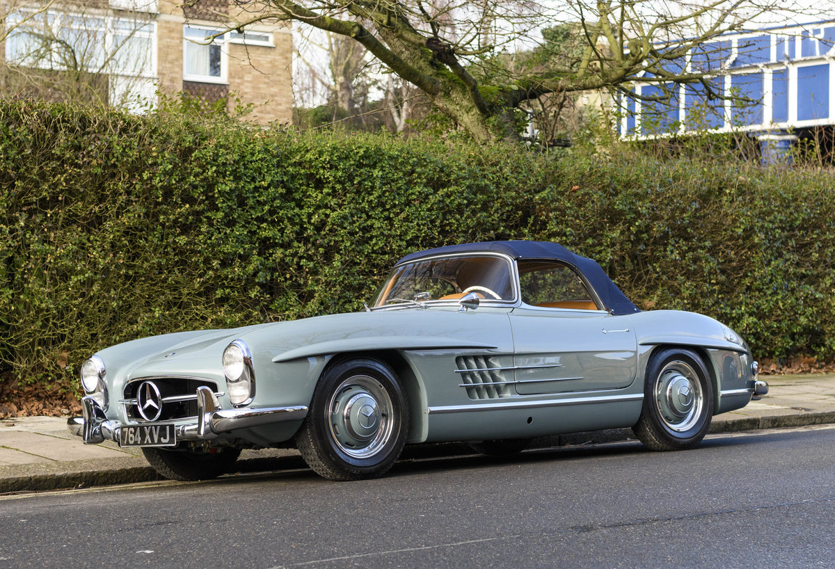 1957 Mercedes-Benz 300SL Roadster (LHD) For Sale (picture 7 of 32)