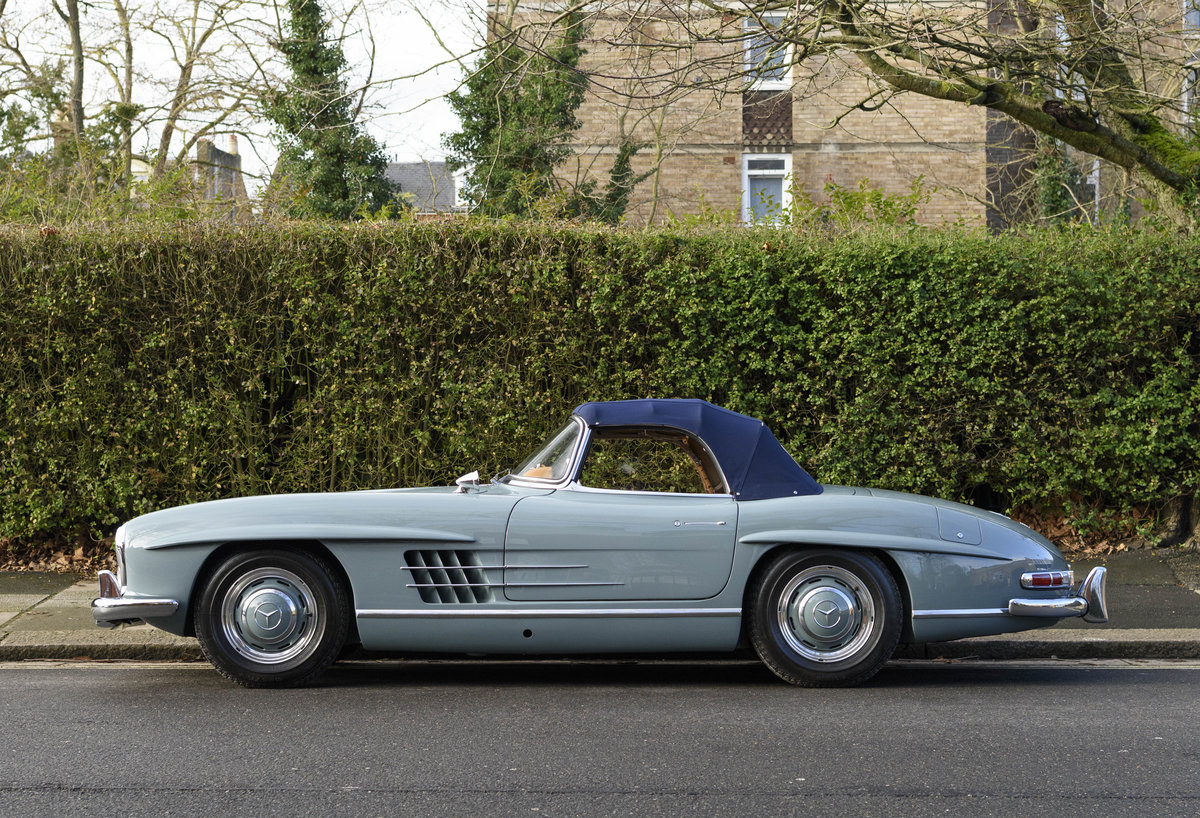 1957 Mercedes-Benz 300SL Roadster (LHD) For Sale (picture 8 of 32)