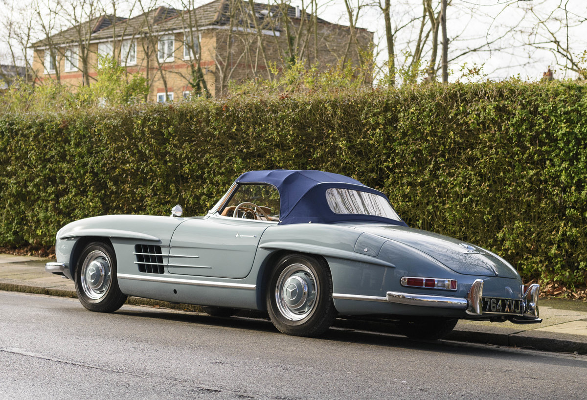 1957 Mercedes-Benz 300SL Roadster (LHD) For Sale (picture 9 of 32)