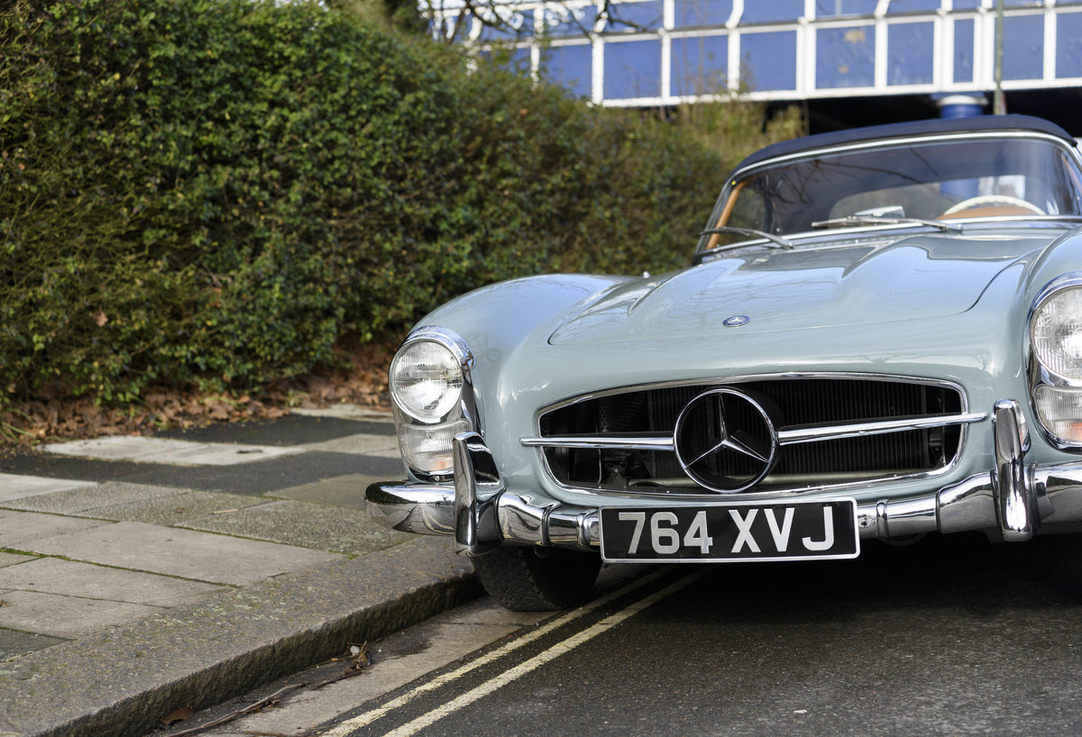 1957 Mercedes-Benz 300SL Roadster (LHD) For Sale (picture 10 of 32)