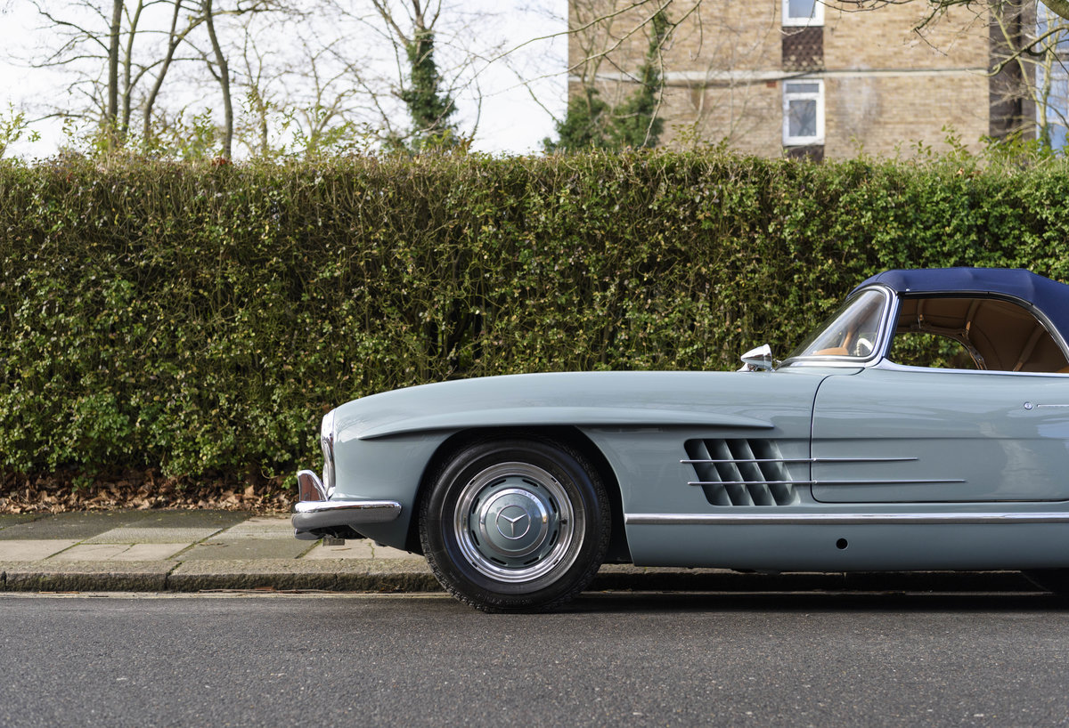 1957 Mercedes-Benz 300SL Roadster (LHD) For Sale (picture 12 of 32)