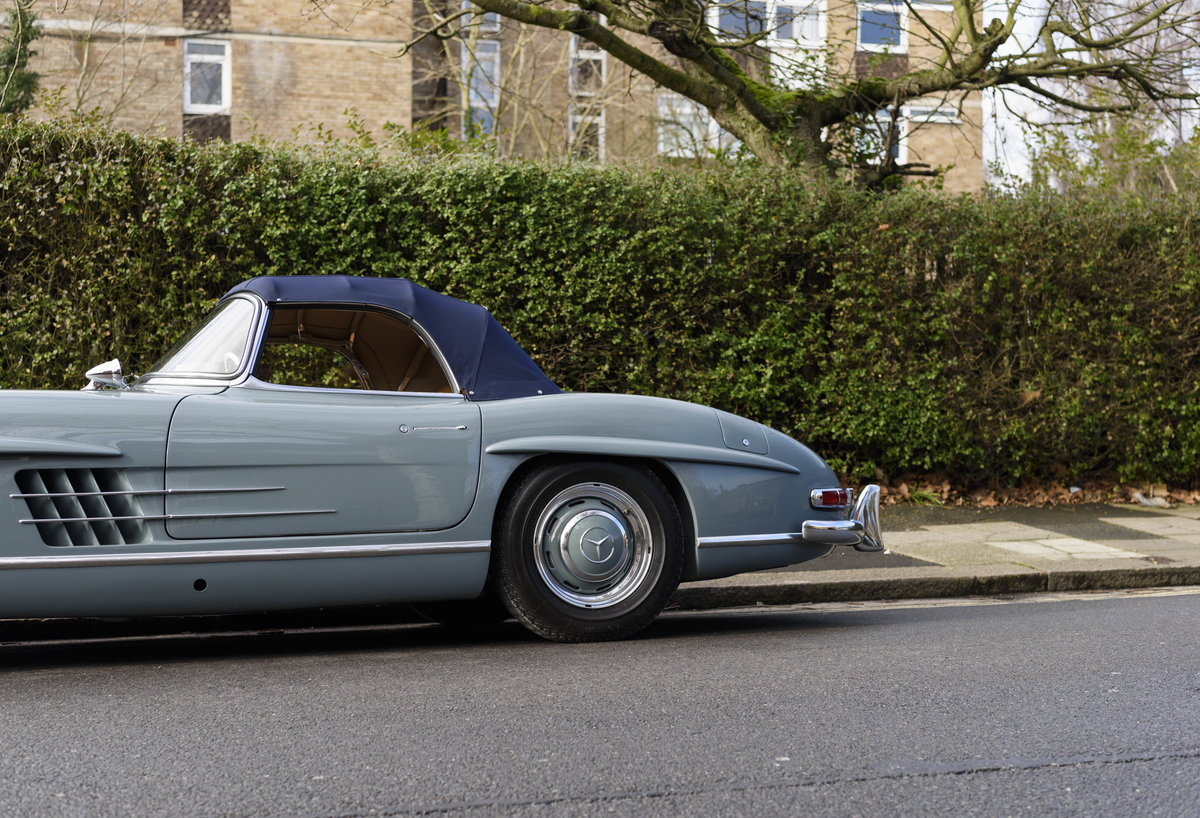 1957 Mercedes-Benz 300SL Roadster (LHD) For Sale (picture 13 of 32)