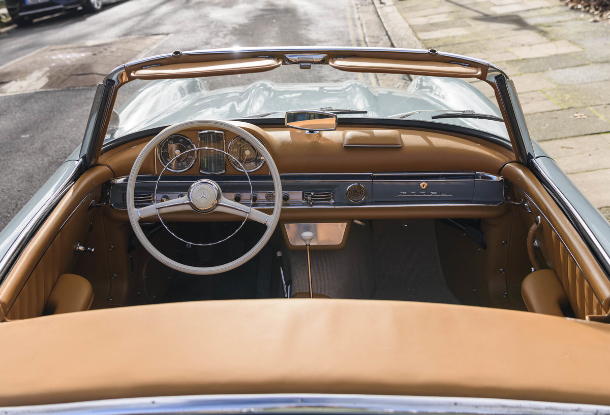 1957 Mercedes-Benz 300SL Roadster (LHD) For Sale (picture 19 of 32)