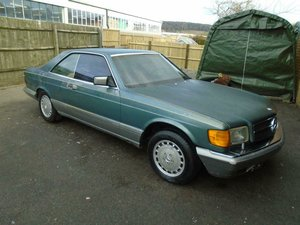 Picture of 1987 MERCEDES BENZ 560 SEC V8 LHD COUPE For Sale
