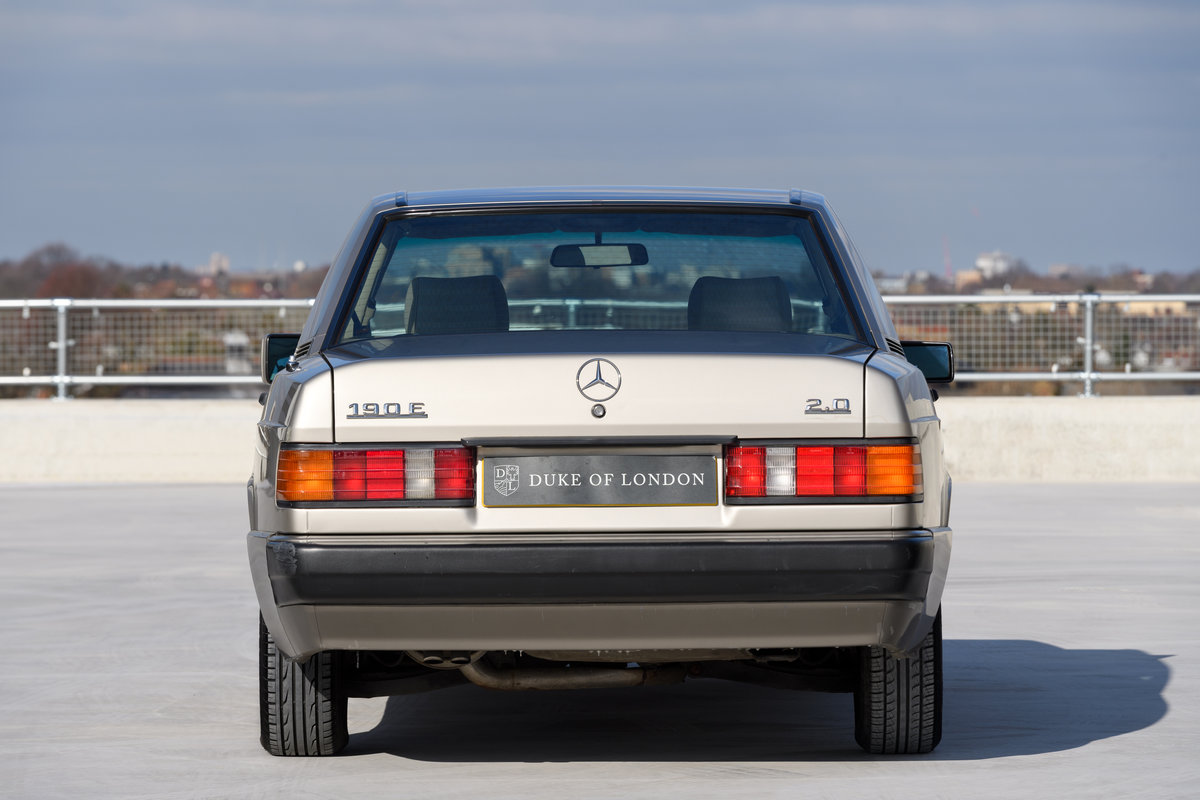1992 Mercedes-Benz 190E 2.0 SOLD (picture 5 of 11)
