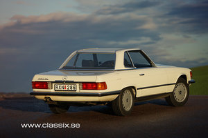 Picture of 1984 Mercedes R107 380SL with hardtop SOLD