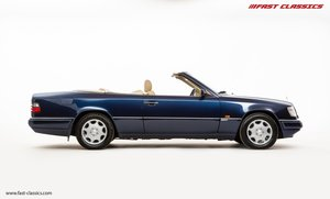 Picture of 1996 MERCEDES E320 SPORTLINE CABRIOLET // AZURITE BLUE METALLIC For Sale