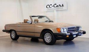 Picture of 1983 Wellkept Mercedes 380 SL 3,8 full of documentation For Sale