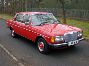 Picture of 1983 MERCEDES BENZ W123 Manual - UK RHD - EXCEPTIONAL! For Sale