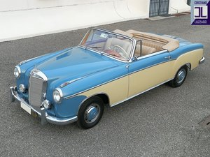 Picture of 1958 220S CONVERTIBLE original Italian delivery For Sale