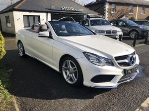 Picture of 2014 MERCEDES E200 AMG LINE SPORT CONVERTIBLE PETROL AUTO SAT-NAV For Sale