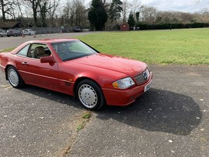 Picture of 1991 MERCEDES-BENZ 500SL-32V (R129) Estimate: £8,000 - £10,000 For Sale by Auction