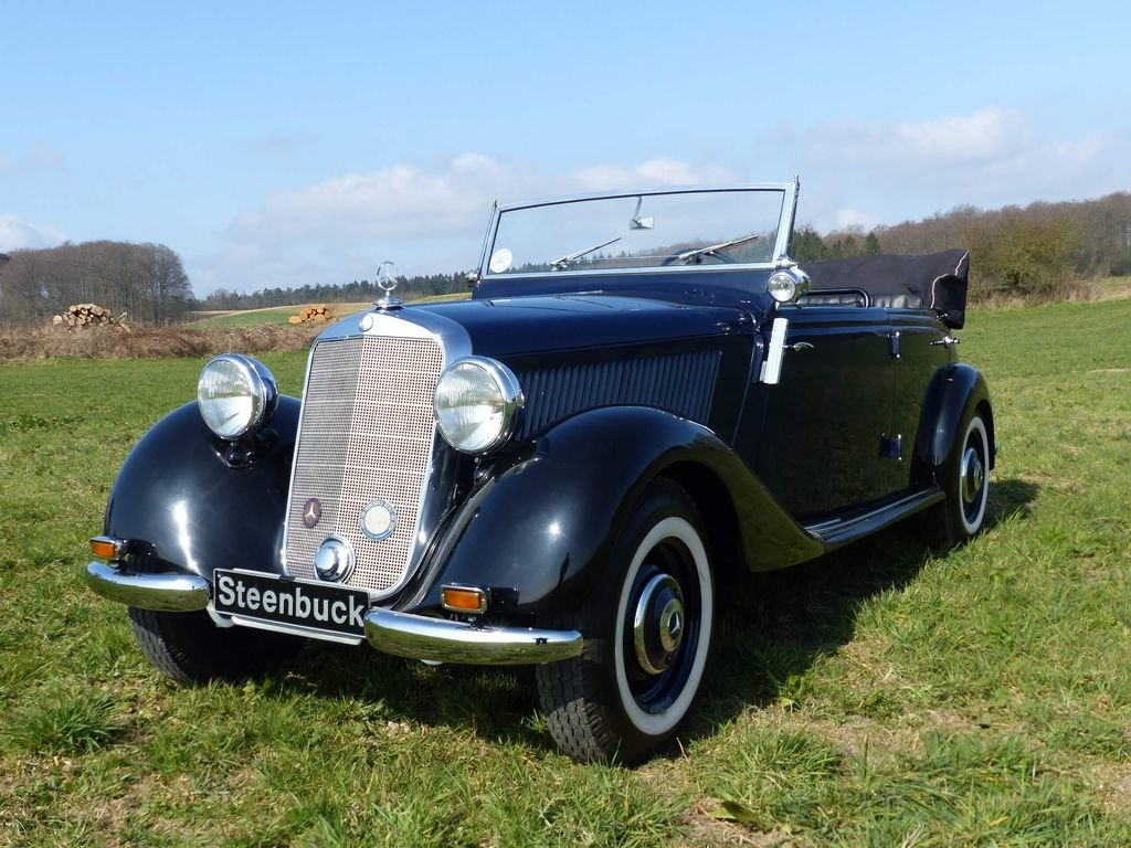 1951 Mercedes-Benz 170 Da OTP (Open Tourer Police) - very rare For Sale (picture 1 of 10)
