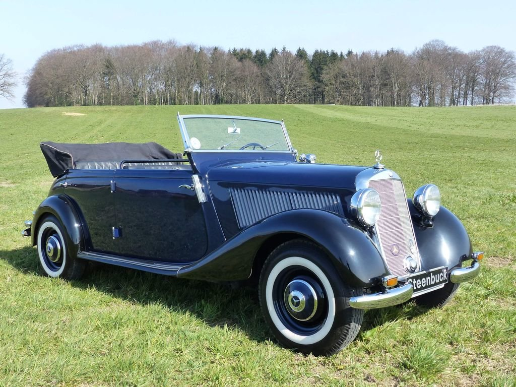 1951 Mercedes-Benz 170 Da OTP (Open Tourer Police) - very rare For Sale (picture 2 of 10)