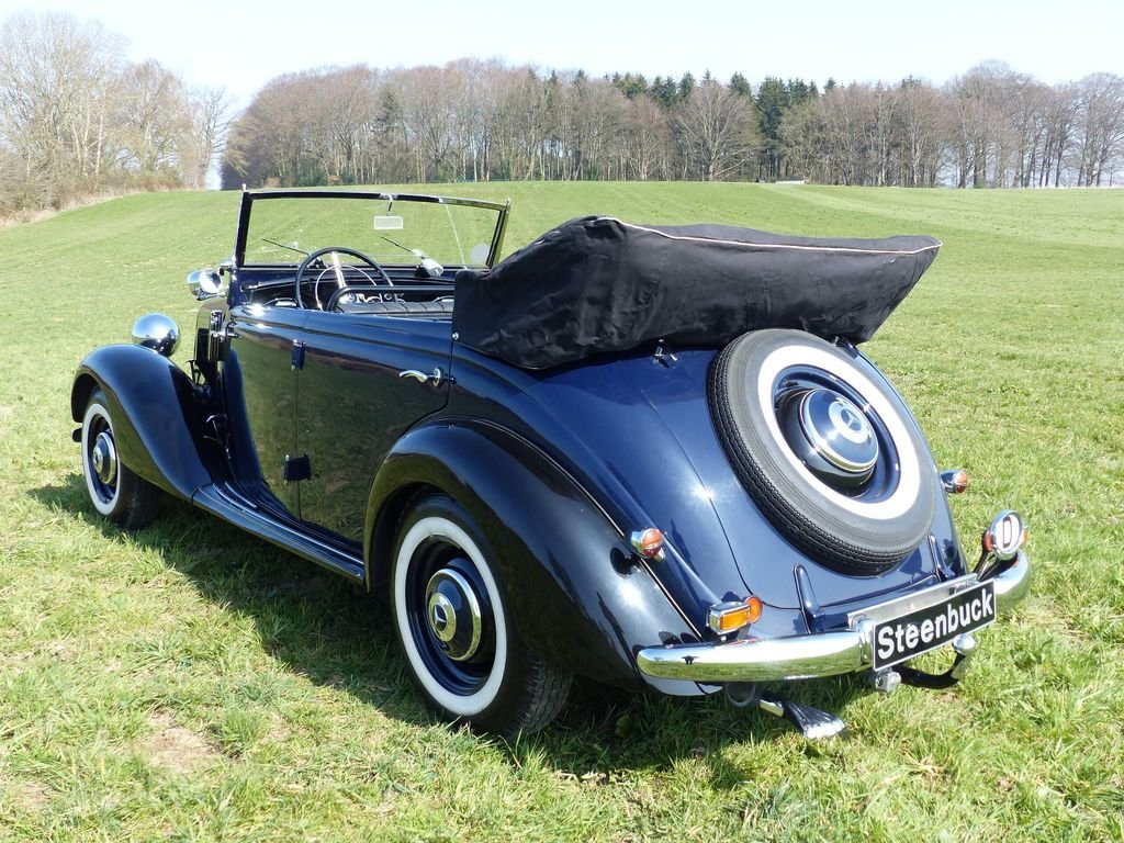 1951 Mercedes-Benz 170 Da OTP (Open Tourer Police) - very rare For Sale (picture 3 of 10)