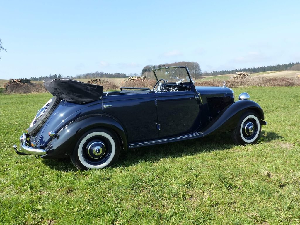 1951 Mercedes-Benz 170 Da OTP (Open Tourer Police) - very rare For Sale (picture 4 of 10)