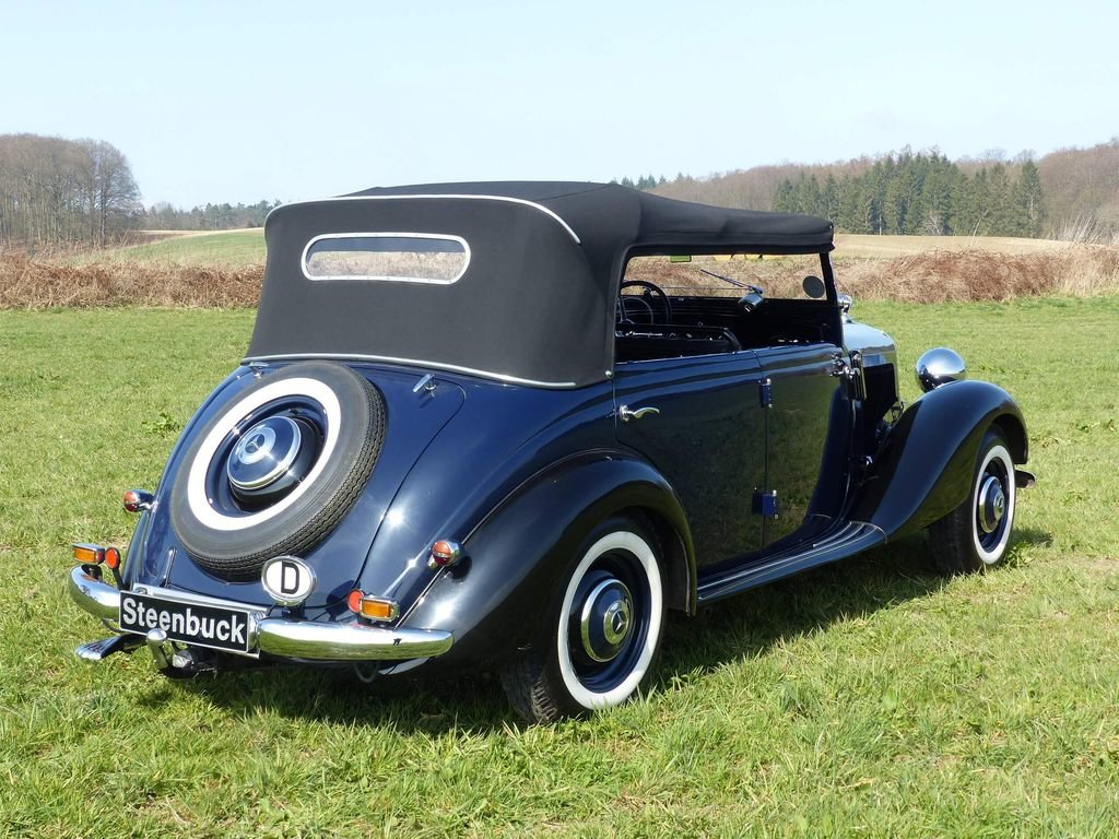 1951 Mercedes-Benz 170 Da OTP (Open Tourer Police) - very rare For Sale (picture 5 of 10)