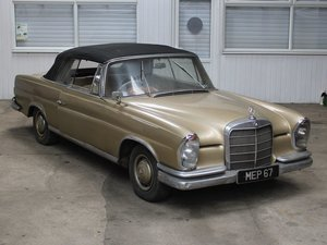 Picture of 1964 Mercedes Benz 220 SE Cabriolet at ACA 1st and 2nd May For Sale by Auction
