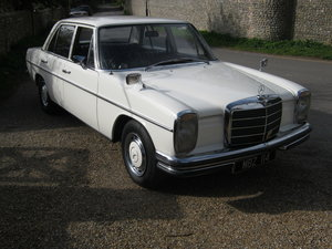 Picture of 1970 MERCEDES 250 SALOON. W114 SERIES. MBZ 114 NUMBER PLATE For Sale