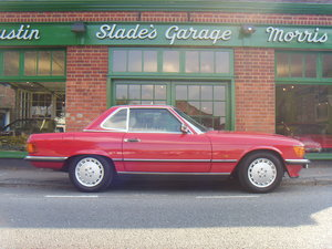 Picture of 1989 Mercedes Benz 300SL R107 40,000 miles FSH For Sale