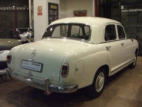 MERCEDES BENZ 190 B PONTON W121 - 1961 For Sale (picture 2 of 6)
