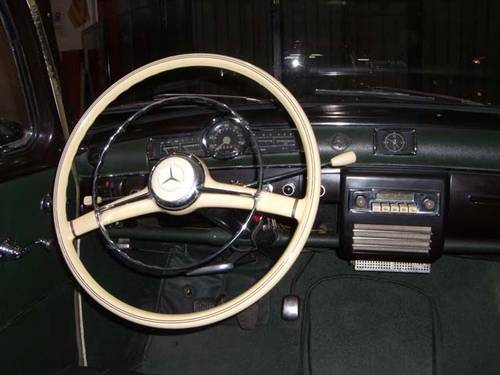 MERCEDES BENZ 190 B PONTON W121 - 1961 For Sale (picture 4 of 6)