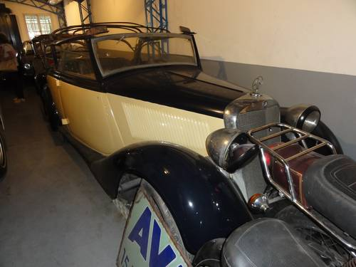 1936 Mercedes 170B Convertible For Sale (picture 1 of 6)