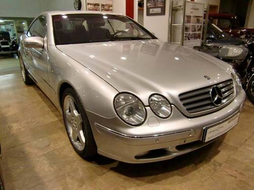 MERCEDES BENZ CL 500 AMG - 1999 For Sale (picture 1 of 12)