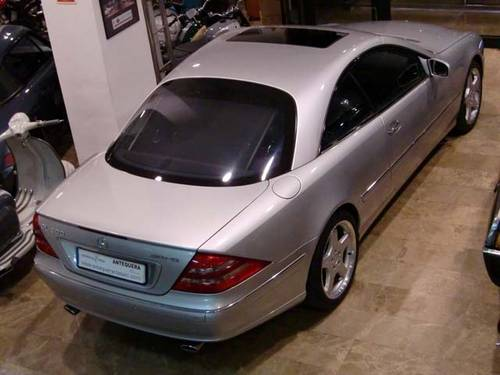 MERCEDES BENZ CL 500 AMG - 1999 For Sale (picture 2 of 12)