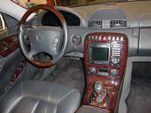 MERCEDES BENZ CL 500 AMG - 1999 For Sale (picture 3 of 6)