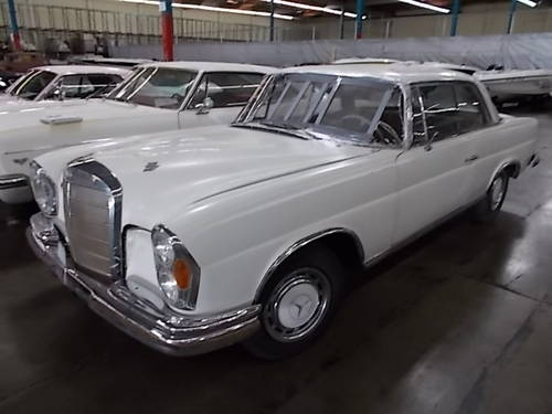 1963 MERCEDES W111 220SE COUPE LHD for RESTORATION SOLD   Car And